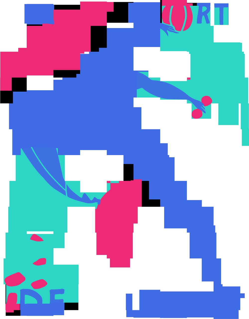 Le sport front graphic