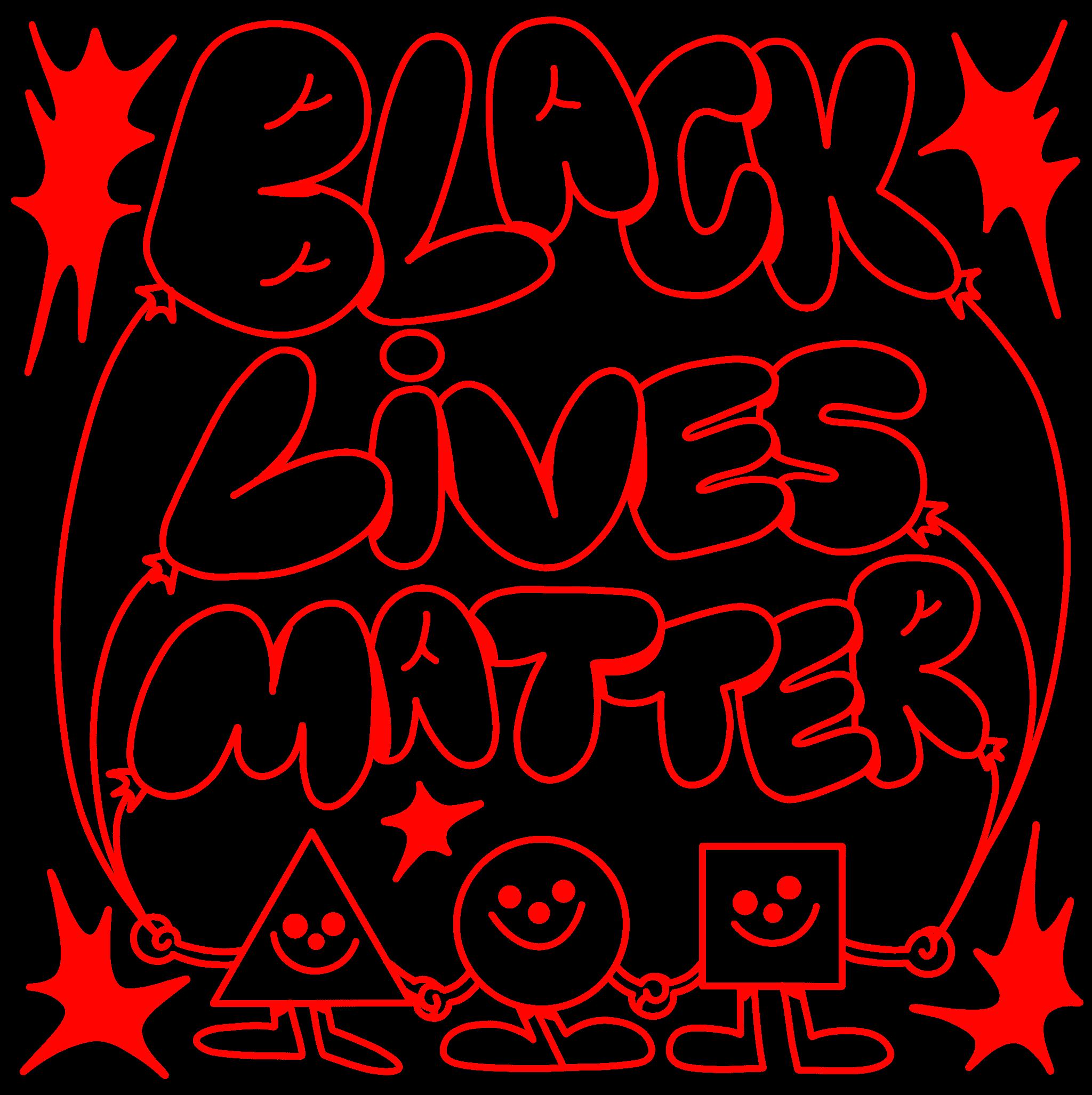 Black lives matter red