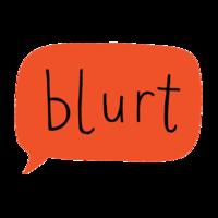 Blurt bubble square